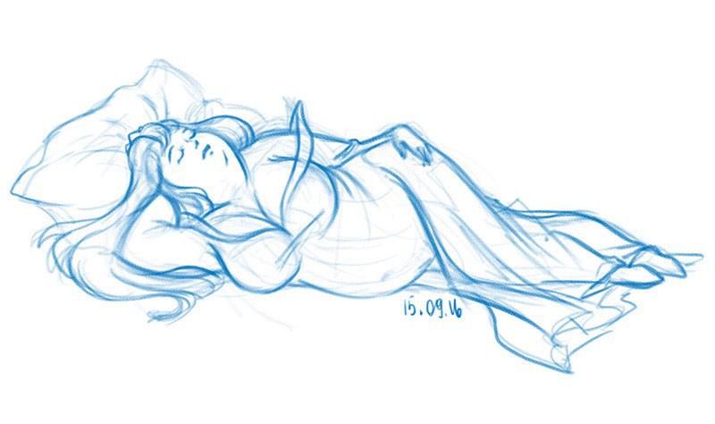 bella-durmiente-sobrepeso-ilustracion