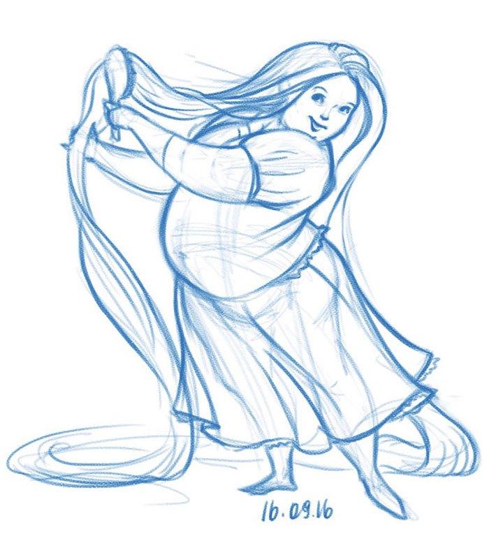 rapunzel-sobrepeso-ilustraciones