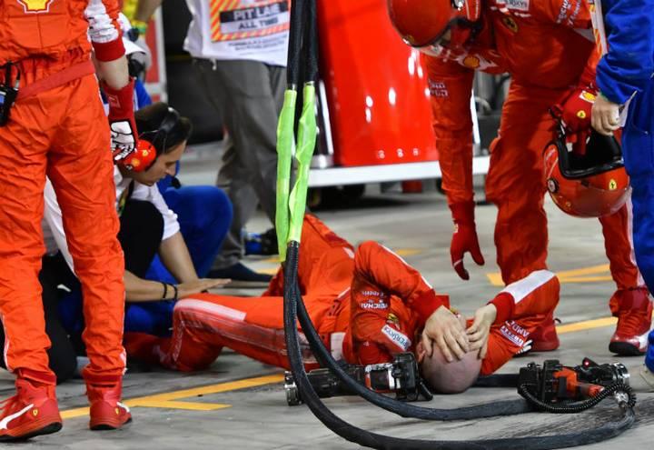 Kimmi Raikkonen atropella a mecánic (4).jpg