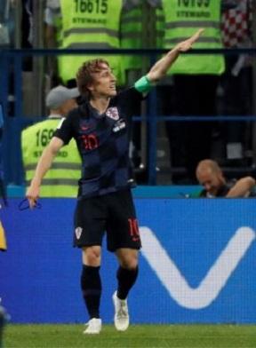 Croacia Modric saludo nazi fascismo fútbol
