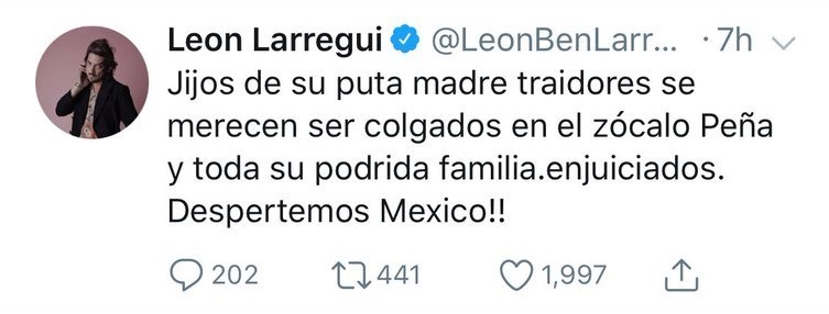 twit leon larregui 2