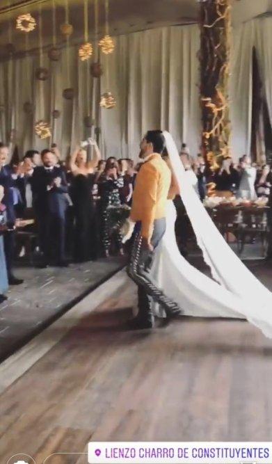 boda hijo de carlos salinas