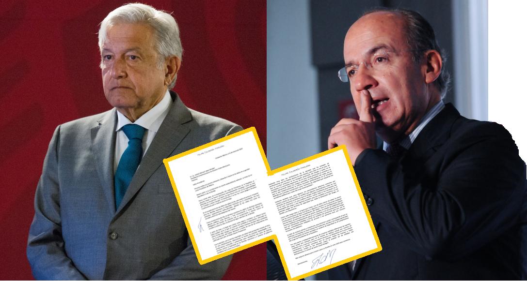 AMLO revela carta que le envío Felipe Calderón – jovenEshacerpolitica